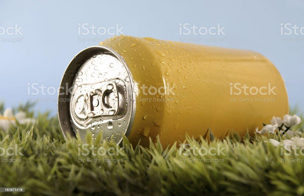 Can lemonade royalty-free stock photo