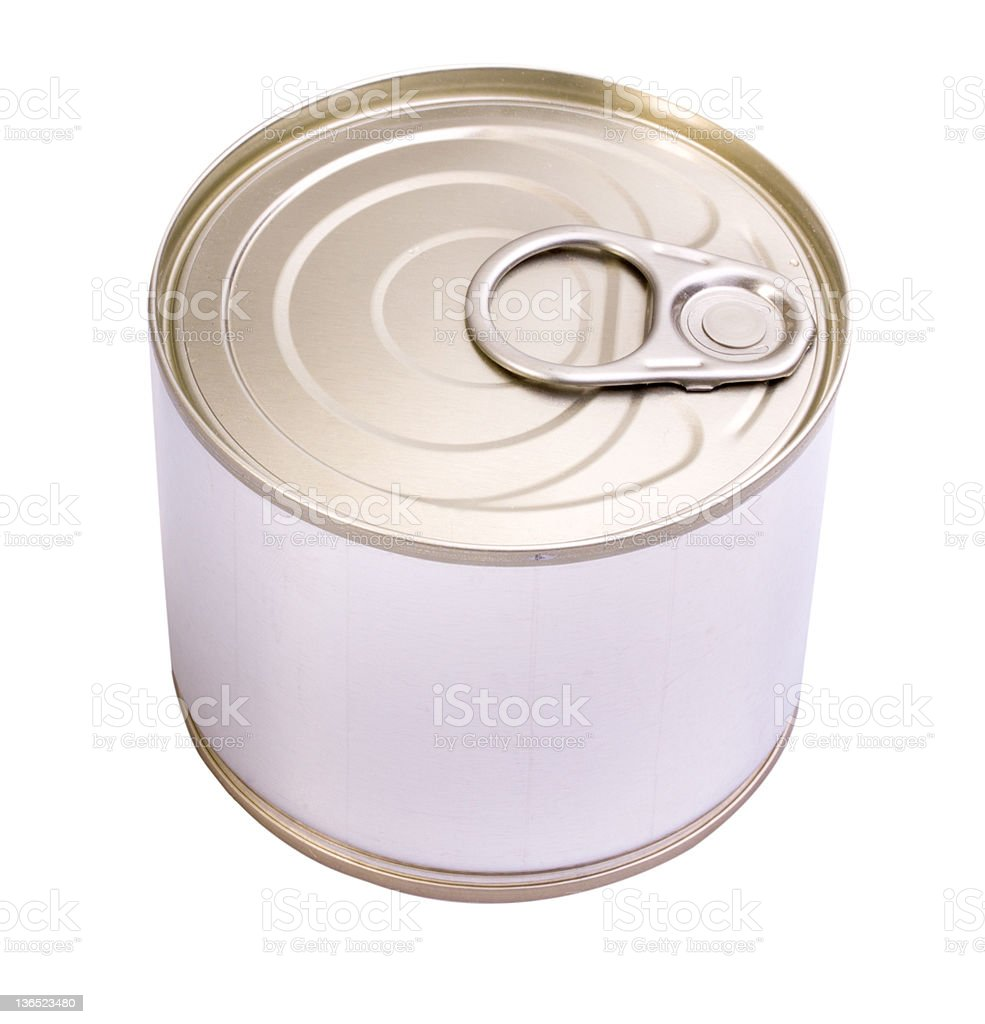 tin can royalty-free stock photo