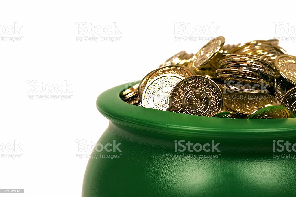 Pot O' Gold stock photo