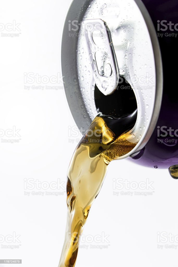 Can of Cola royalty-free stock photo