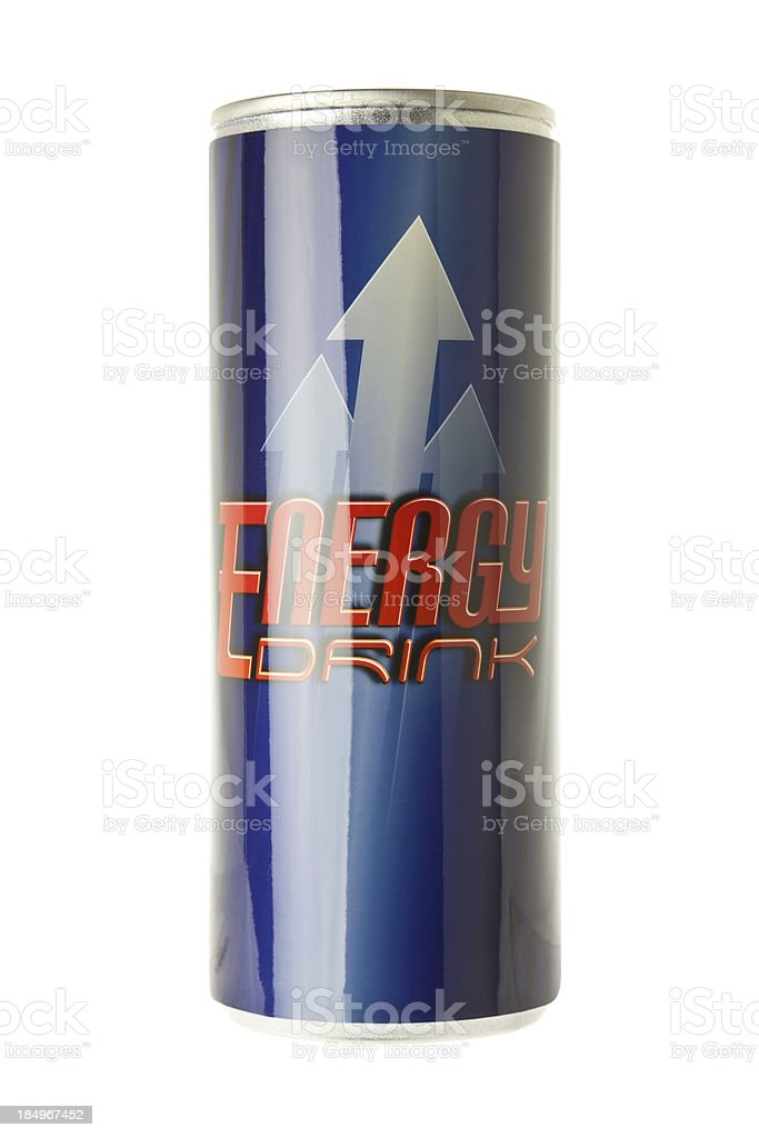 Can of Energy stock photo
