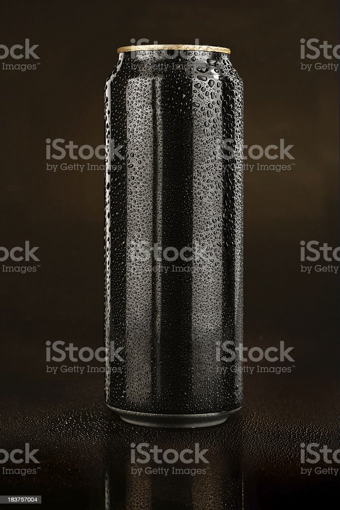 Can of Guinness stock photo