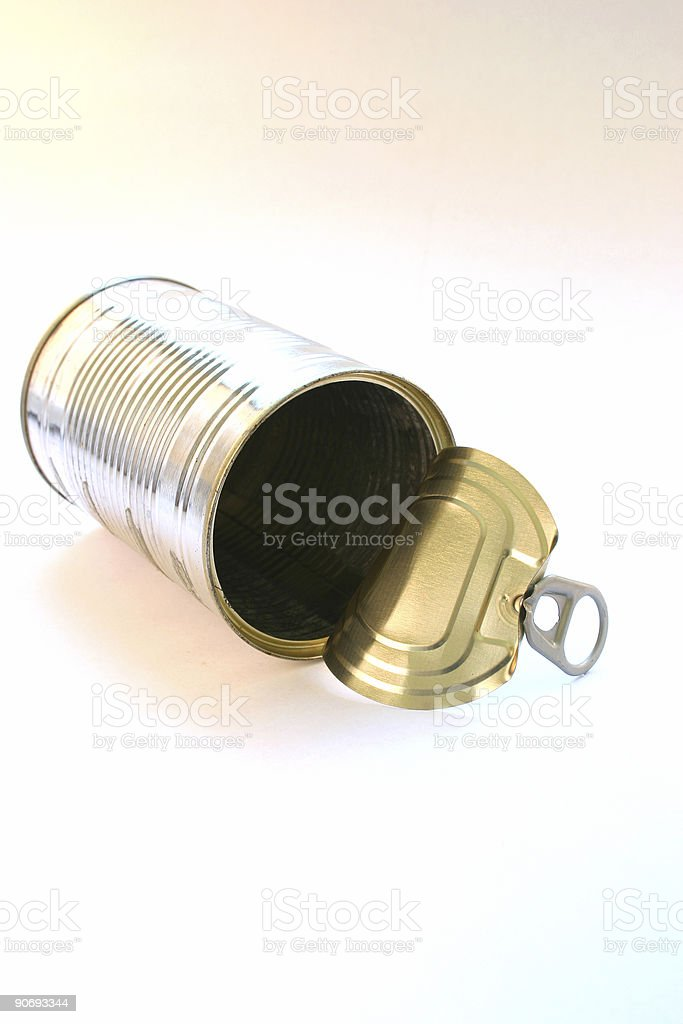 can of nothing royalty-free stock photo