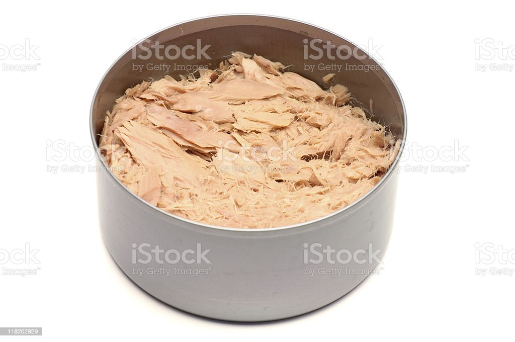 Can of Tuna royalty-free stock photo