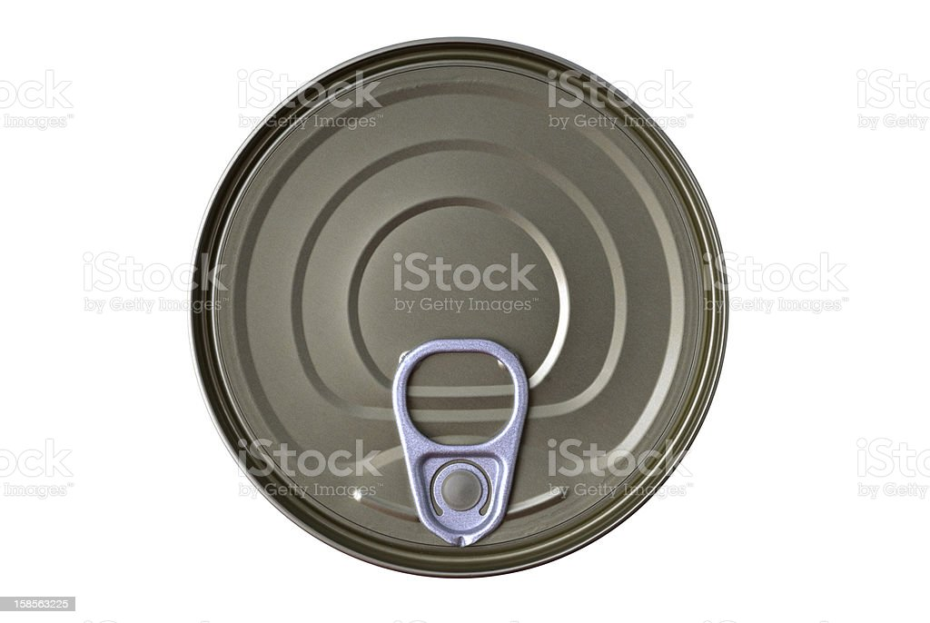 Can on white royalty-free stock photo