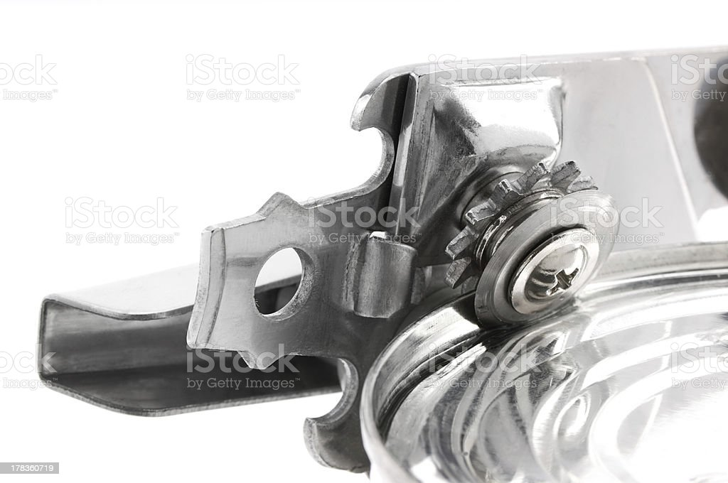 Can Opener Close up stock photo