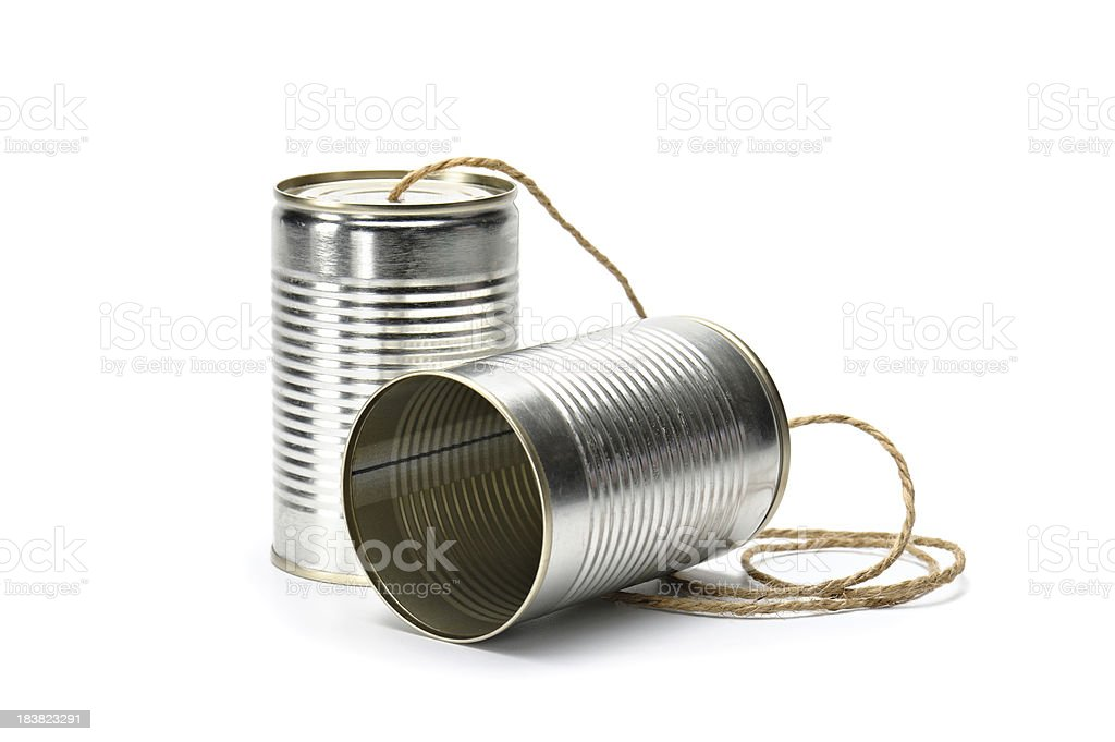 Can Phone royalty-free stock photo