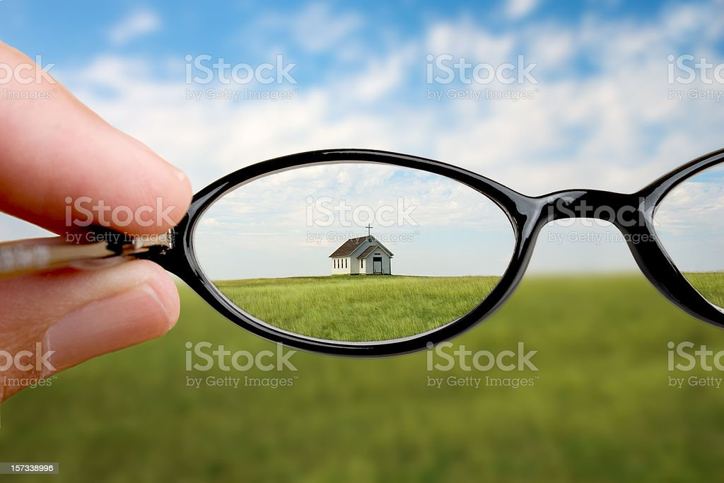 I Can See Clearly royalty-free stock photo