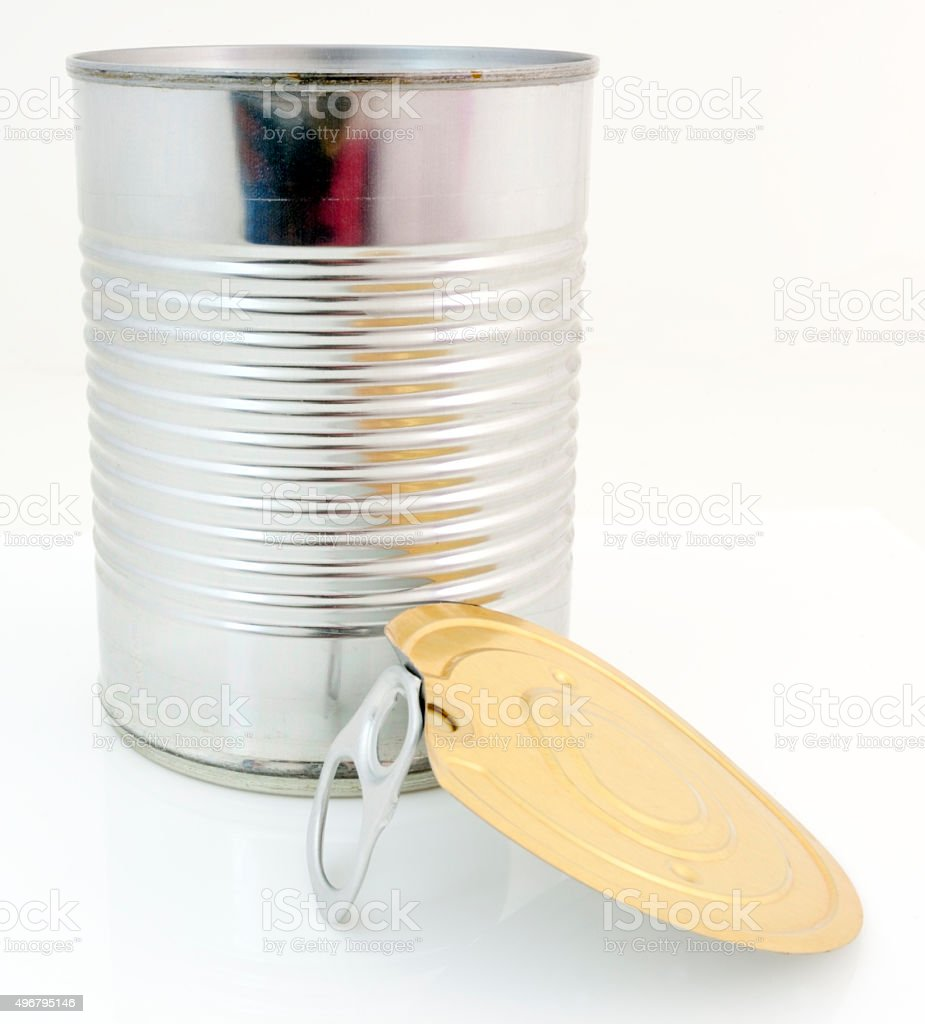 Can with Pull Top stock photo