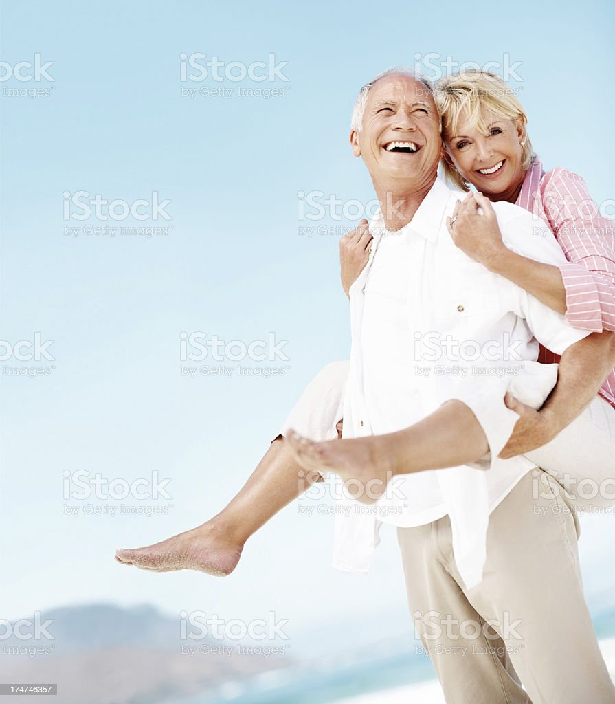 Can you believe we're still this crazy together? royalty-free stock photo