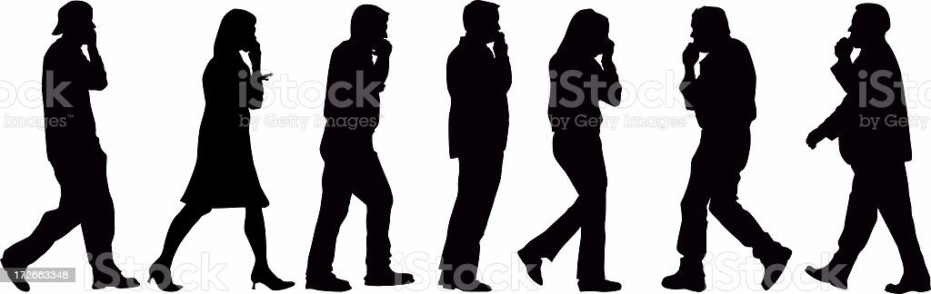 Can you hear us?? stock photo