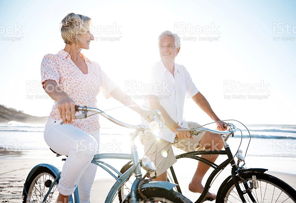 Can you keep up? stock photo