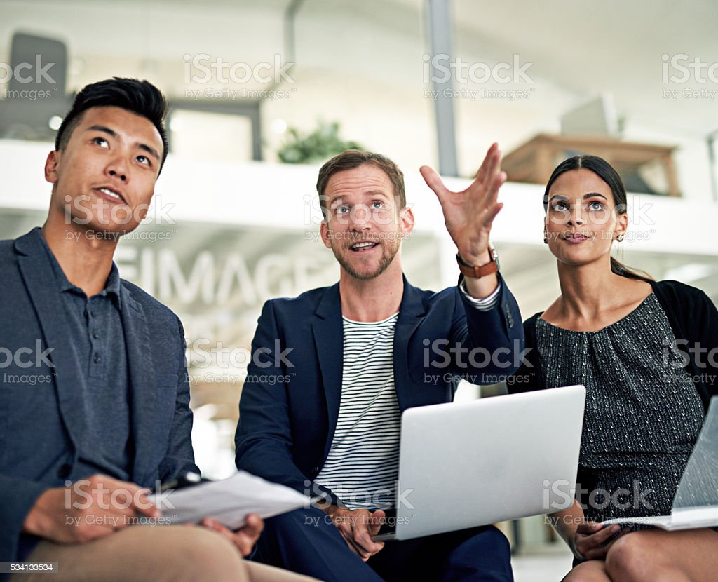 Can you picture it? stock photo