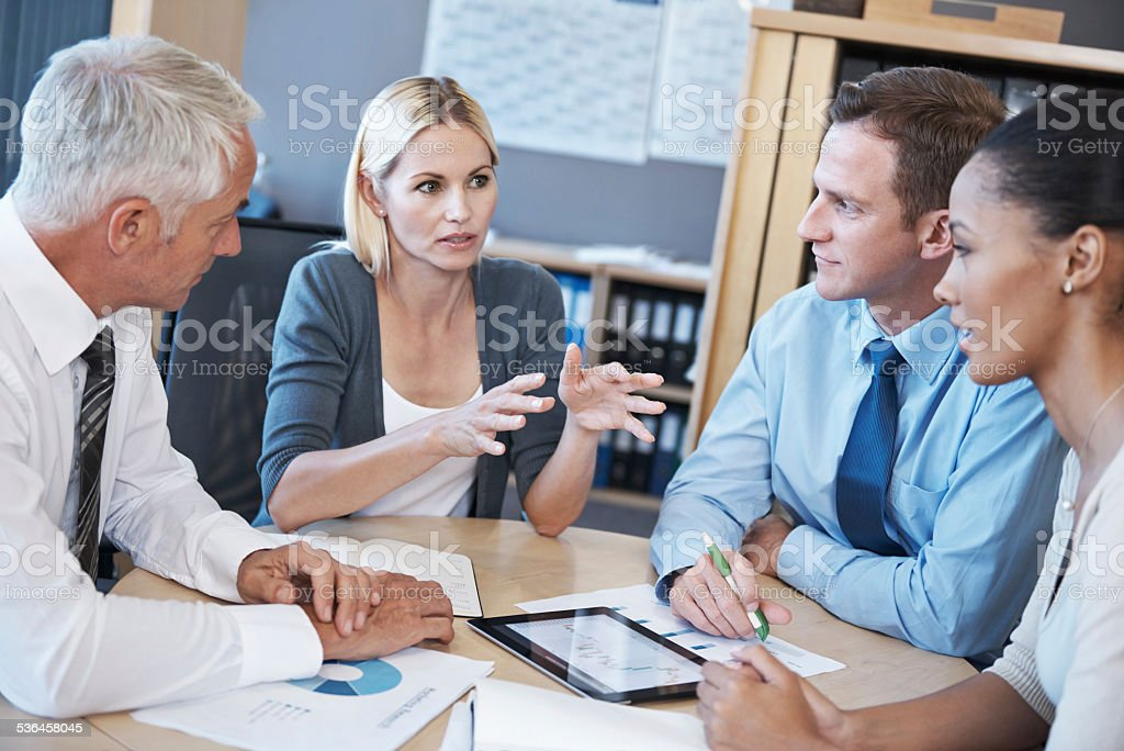 Can you sort that out? stock photo