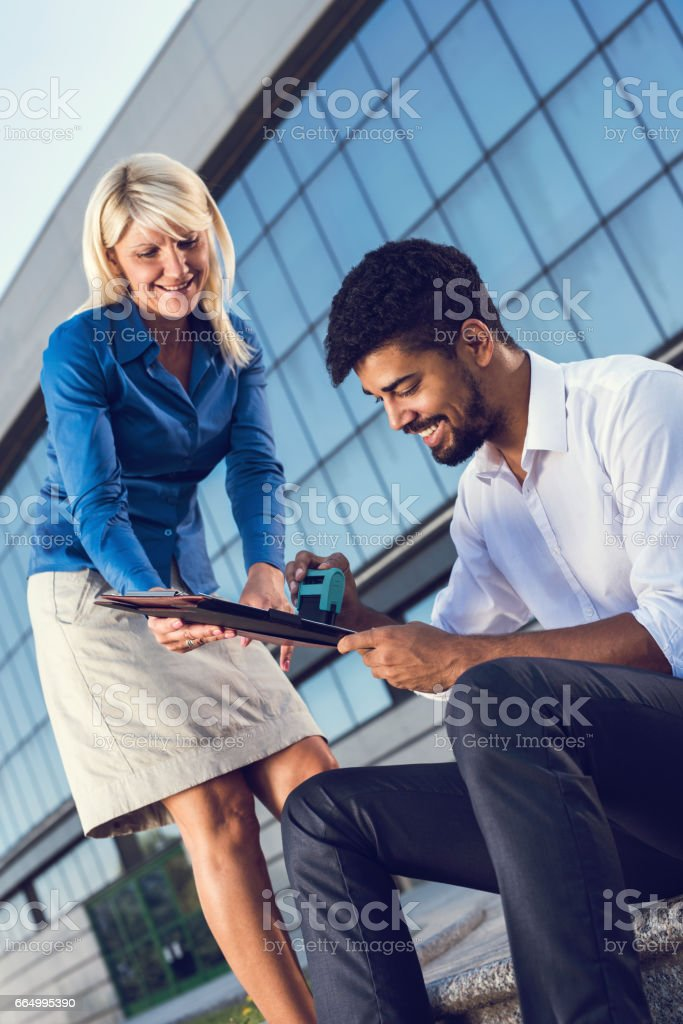 Can you stamp this boss? stock photo