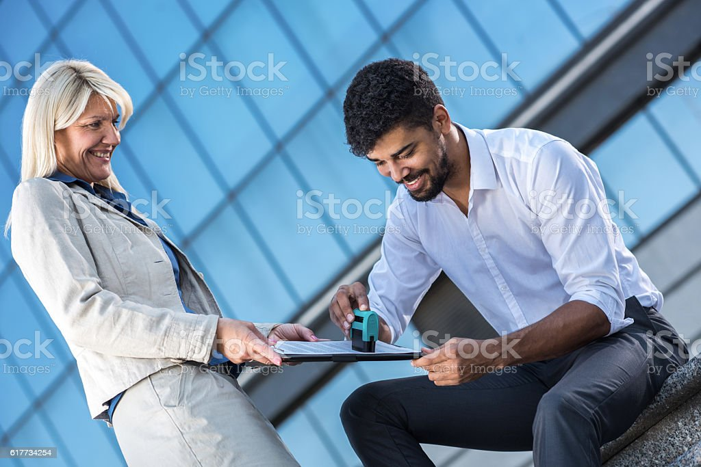 Can you stamp this? stock photo
