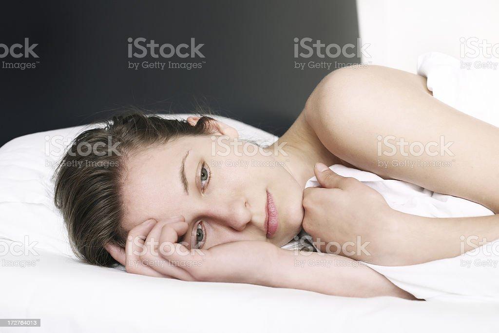 can´t sleep stock photo