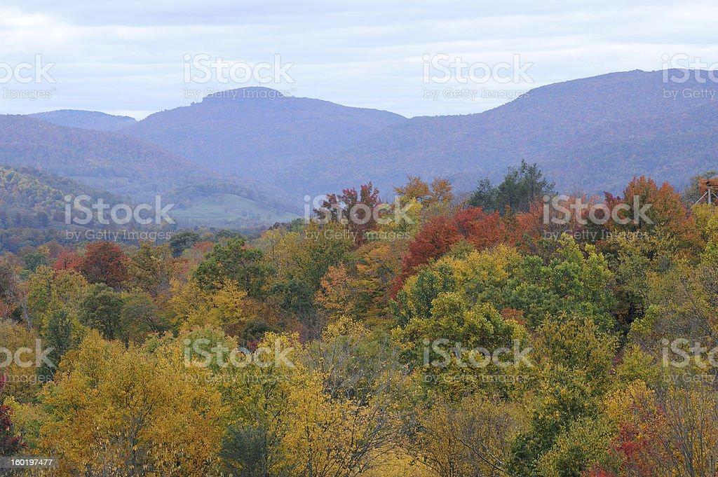 Canaan Valley in Autumn stock photo