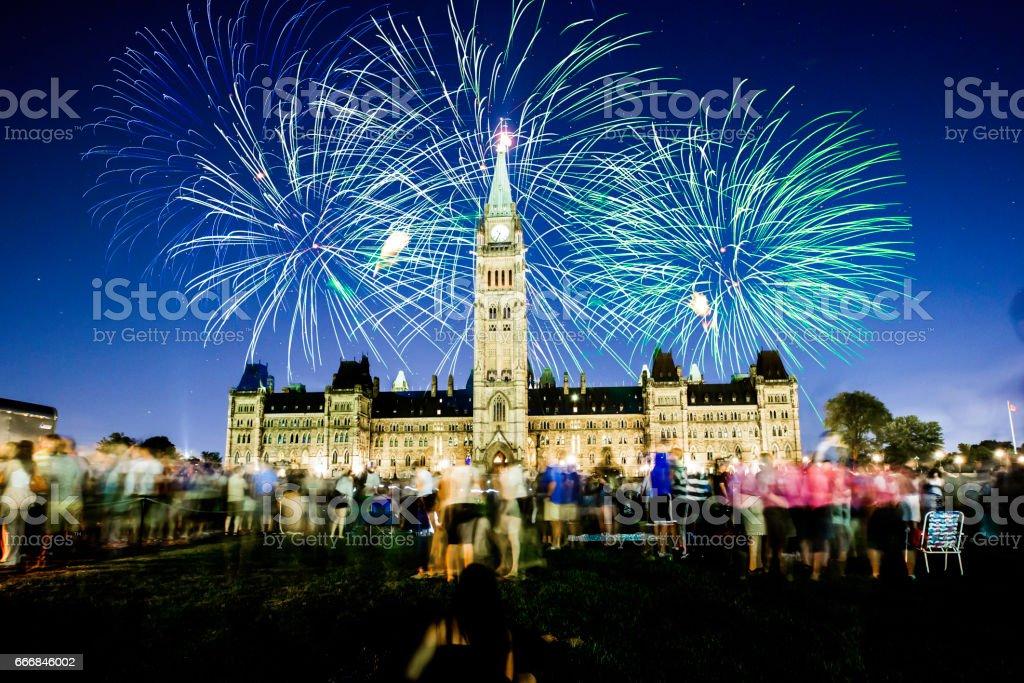 Canada 150 stock photo