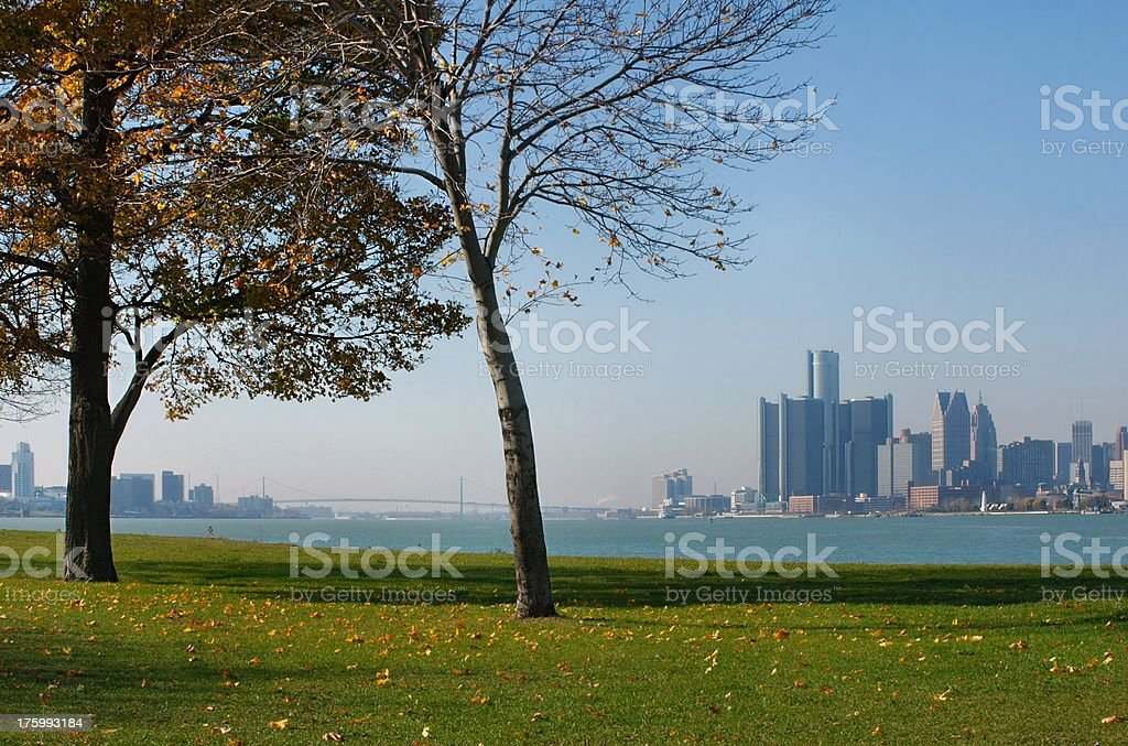 Canada and US royalty-free stock photo