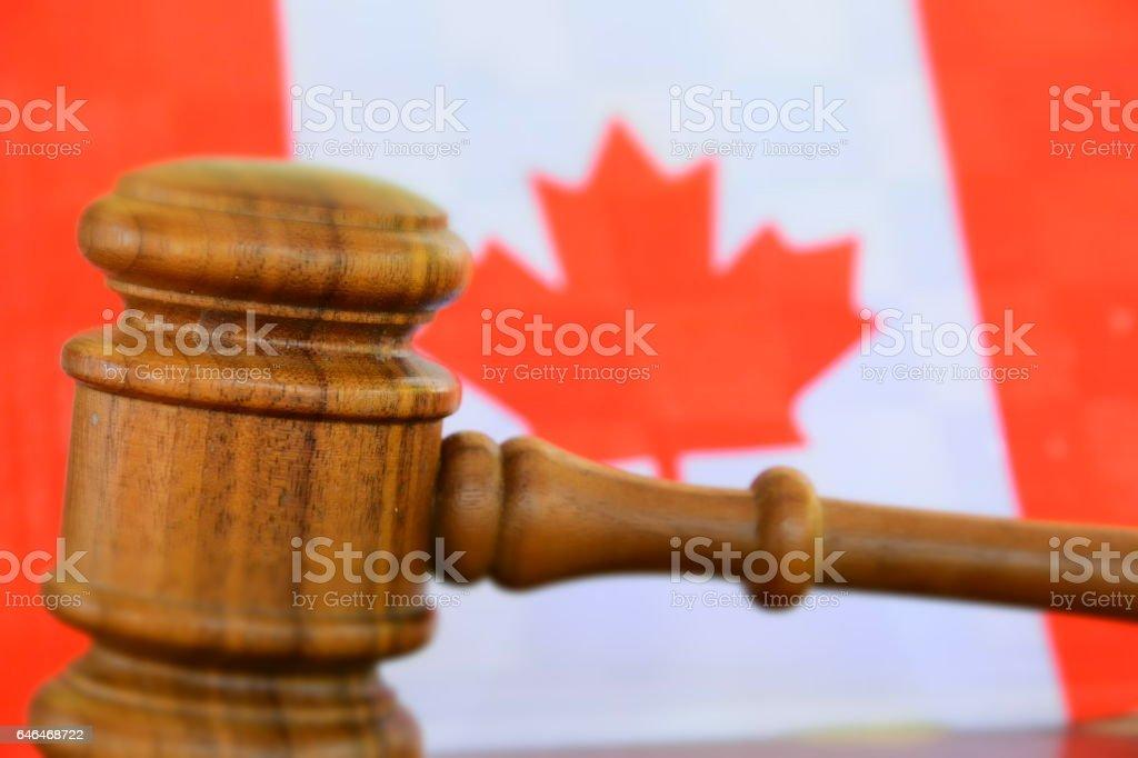 Canada court stock photo