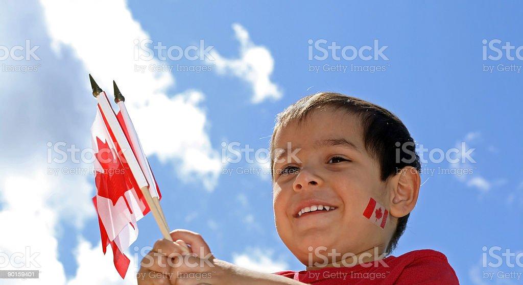 Canada Day Fun royalty-free stock photo
