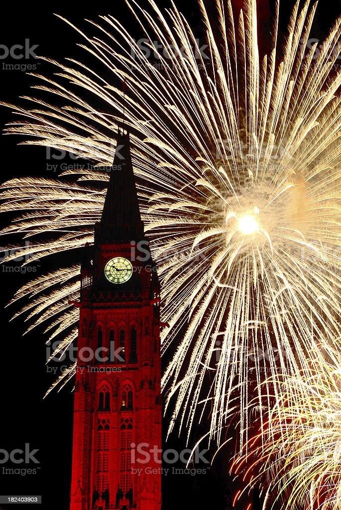 Canada Day in Ottawa royalty-free stock photo
