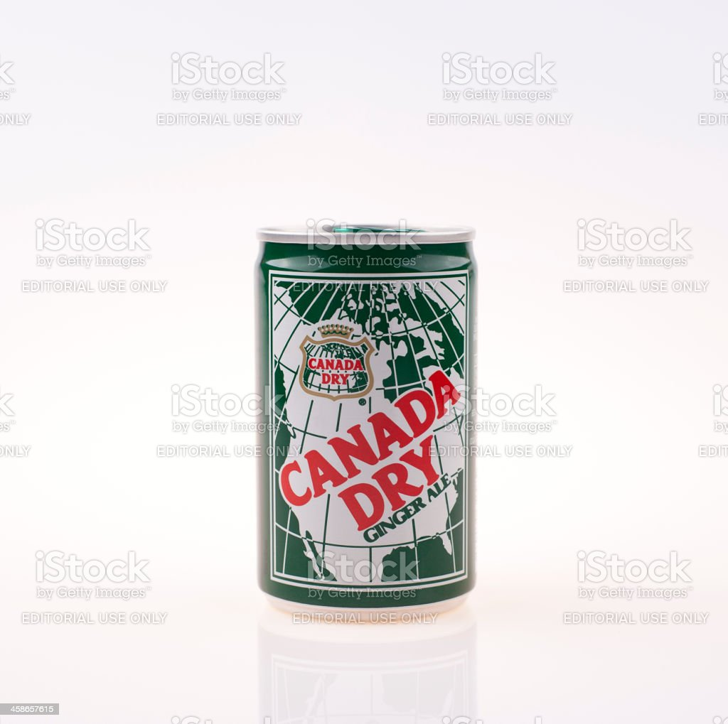 Canada Dry Ginger Ale stock photo