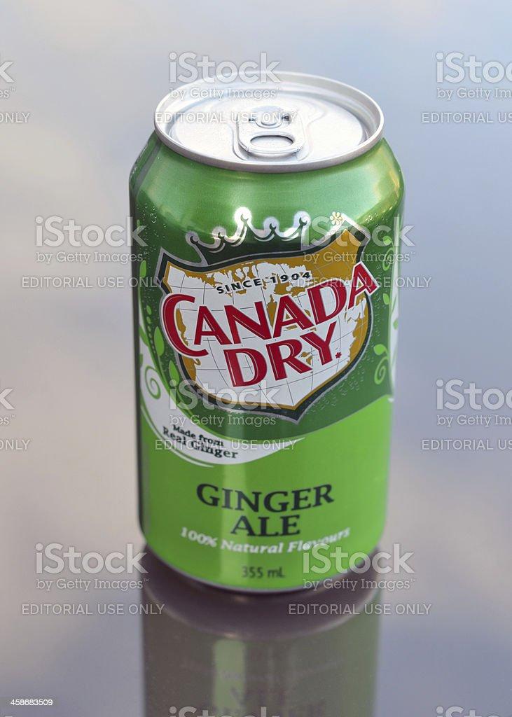 Canada Dry stock photo