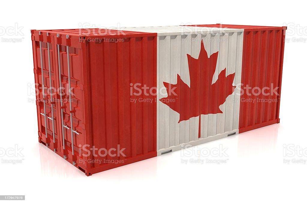カナダのエクスポート ロイヤリティフリーストックフォト