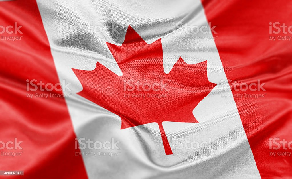 Image result for Canadian and American flags