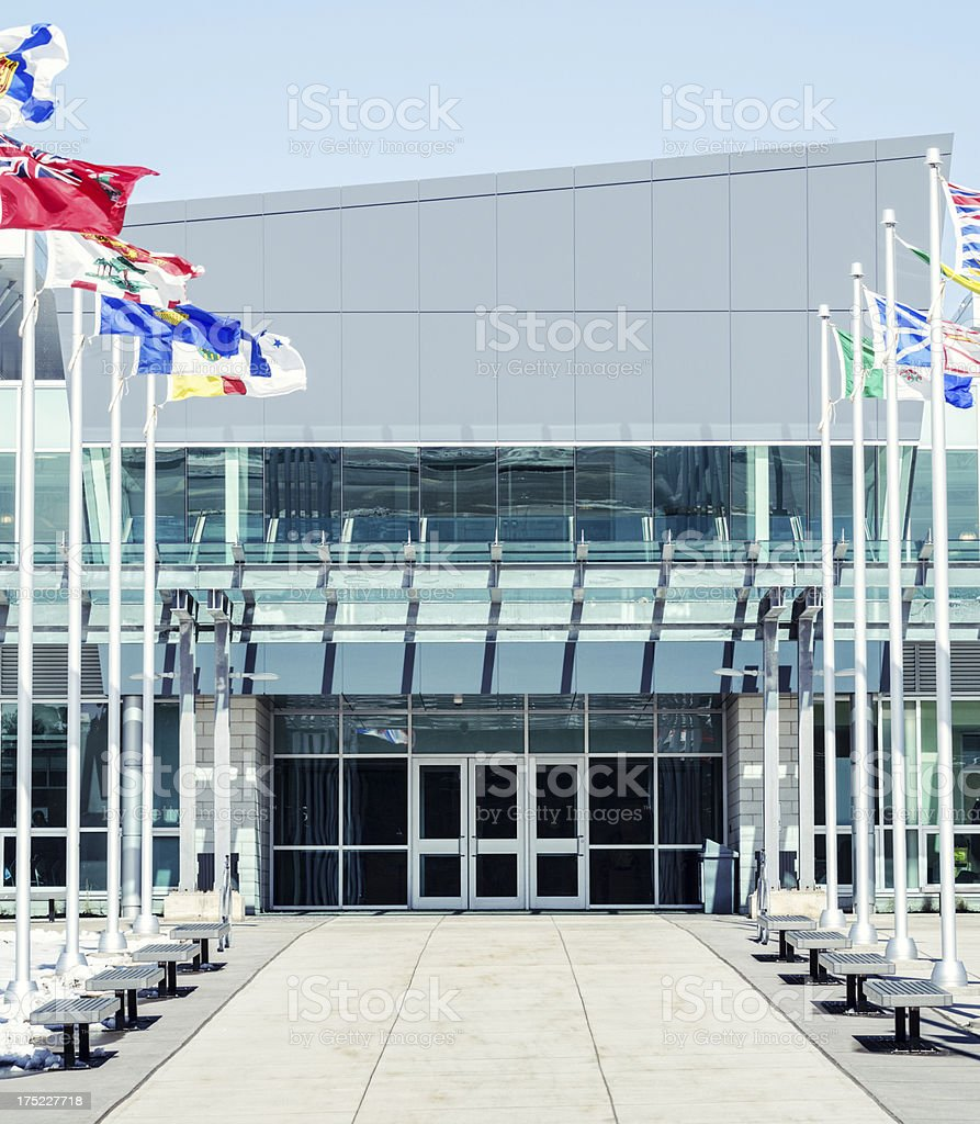 Canada Games Center royalty-free stock photo
