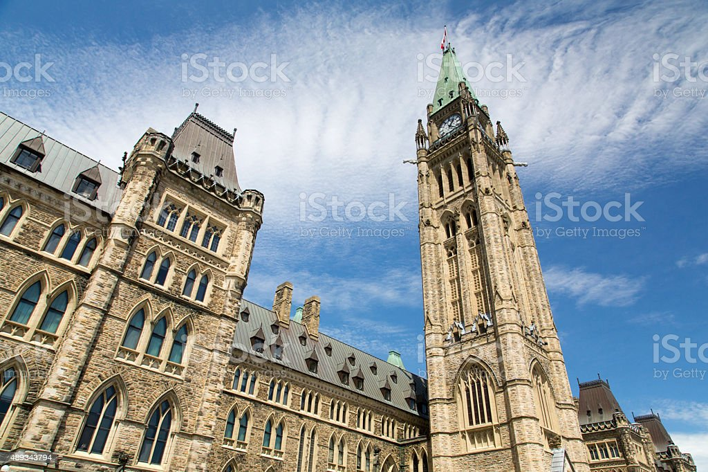 Canada - Ottawa - Parliament Hill stock photo