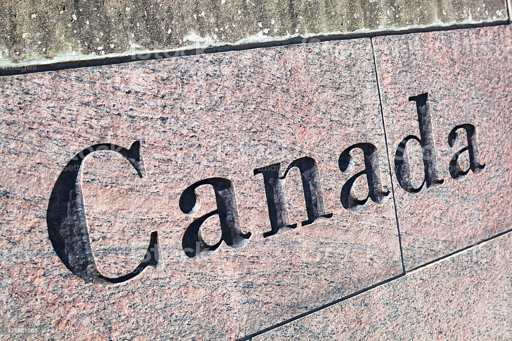 Canada royalty-free stock photo