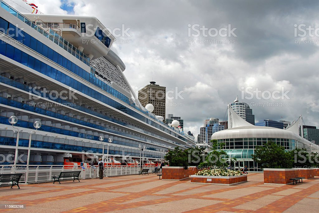 Canada Place royalty-free stock photo