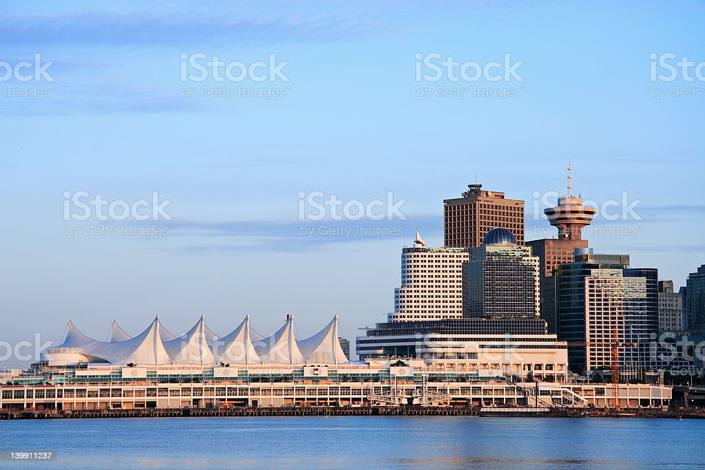 Canada Place stock photo