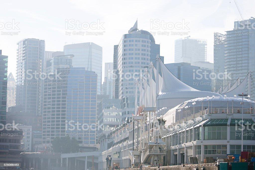 Canada Place Vancouver British Columbia stock photo
