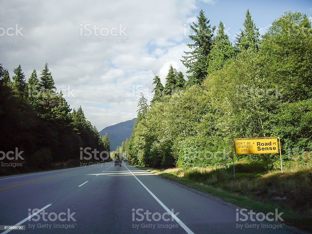 Canada Sea-to-Sky Highway, British Columbia,Canada stock photo