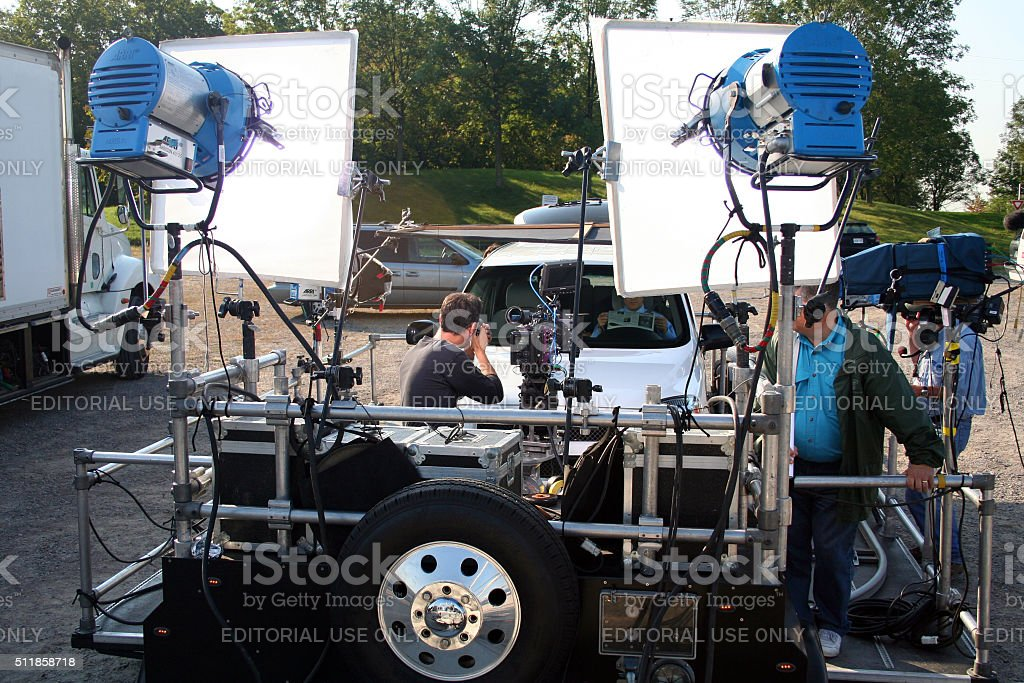 Canada: Television Production stock photo