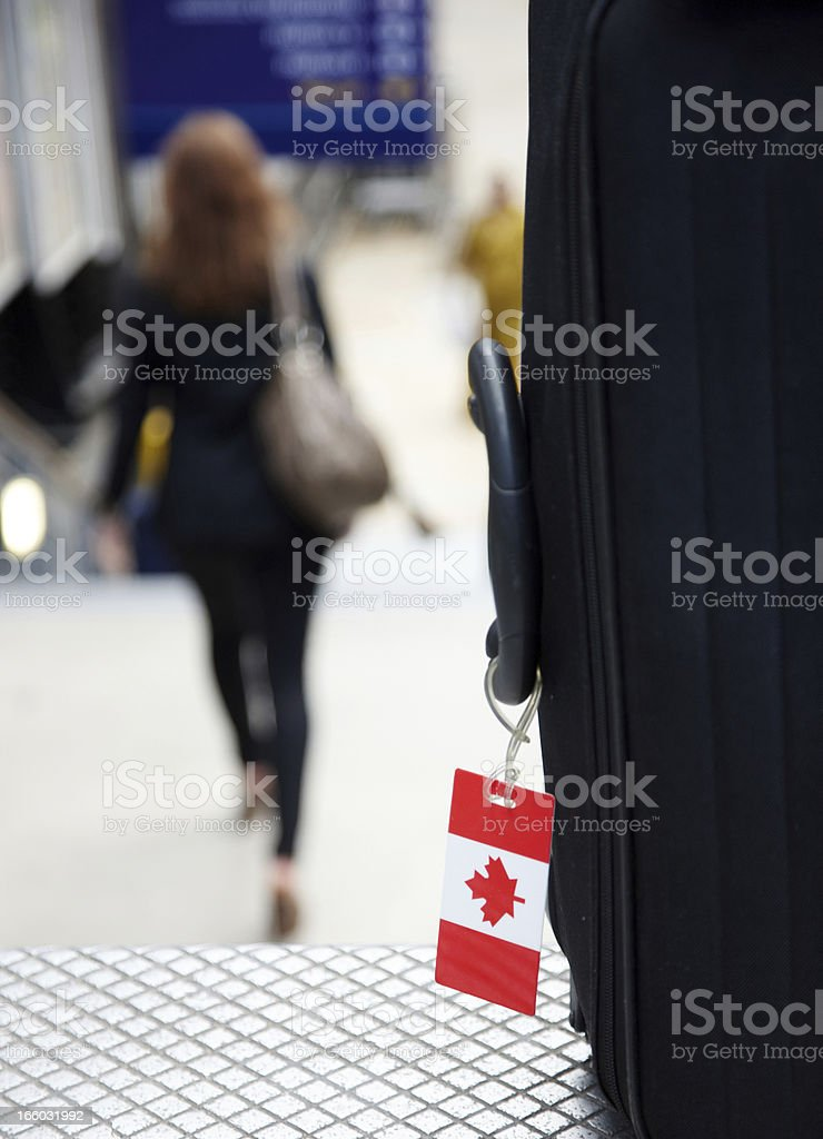 Canada tourism royalty-free stock photo