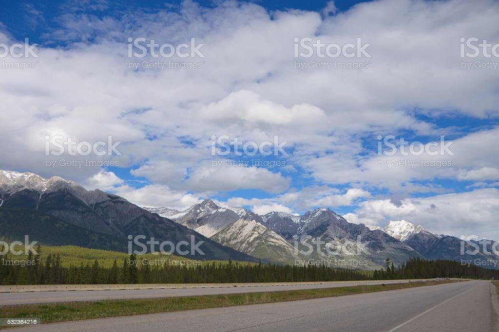 Canadaian Rockies stock photo