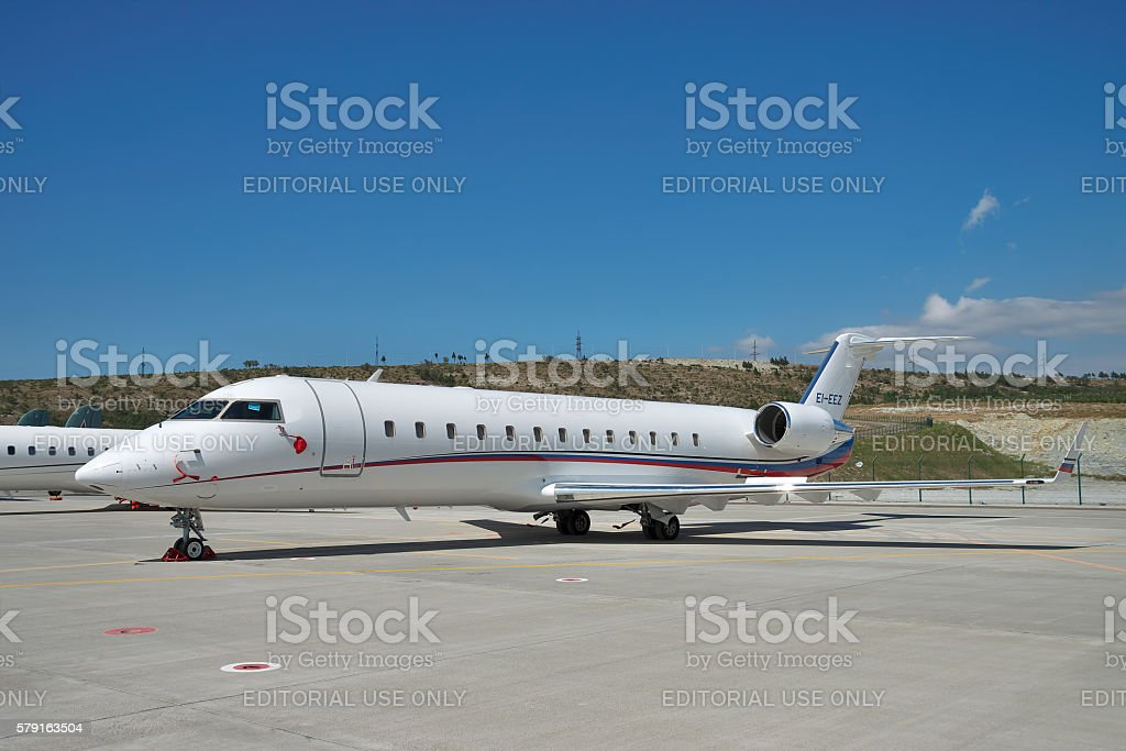 Canadair CL-600 Challenger 850 stock photo