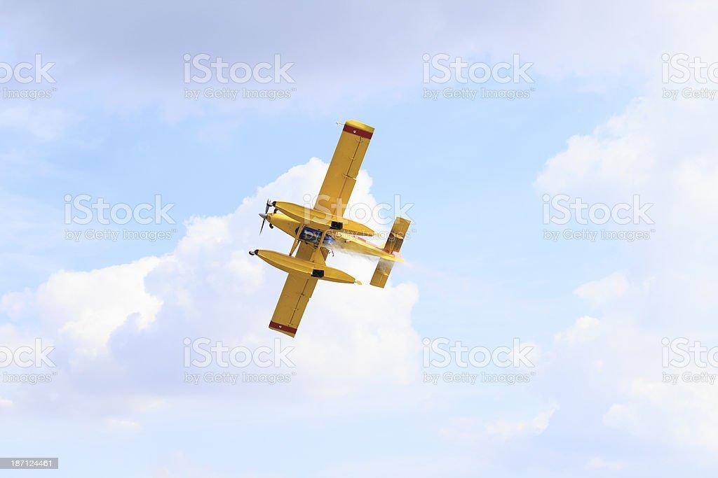 Canadair royalty-free stock photo
