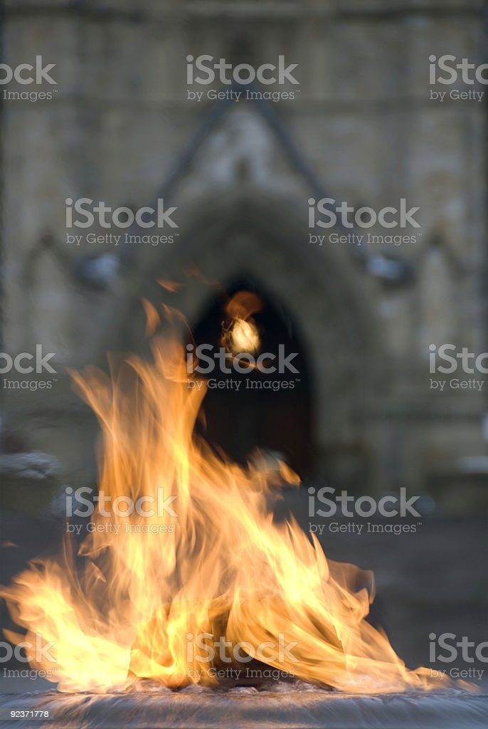 Canada's Centennial Flame stock photo