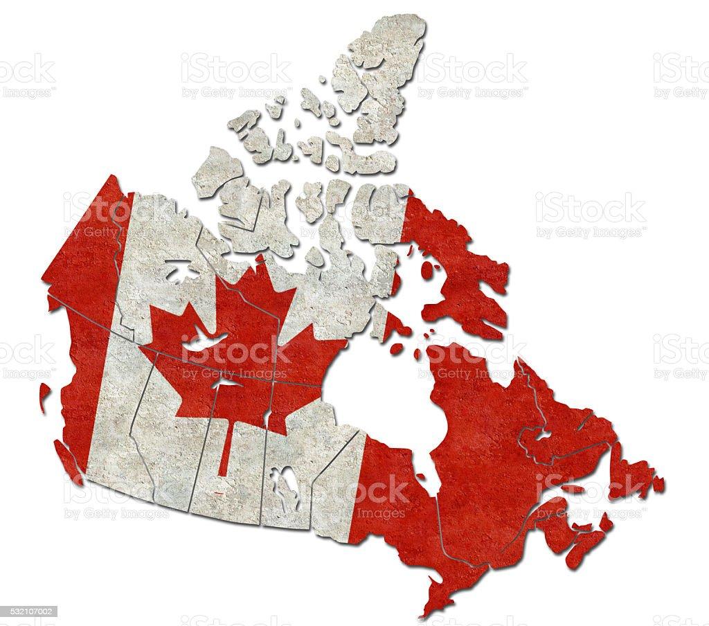 Canada's flag stock photo