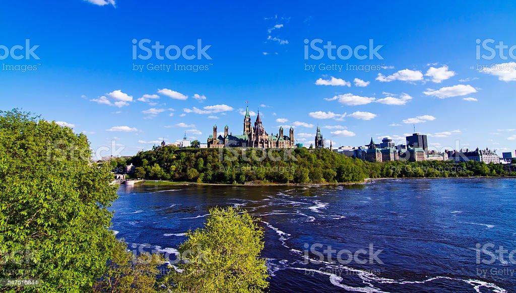 Canada's Parliament stock photo