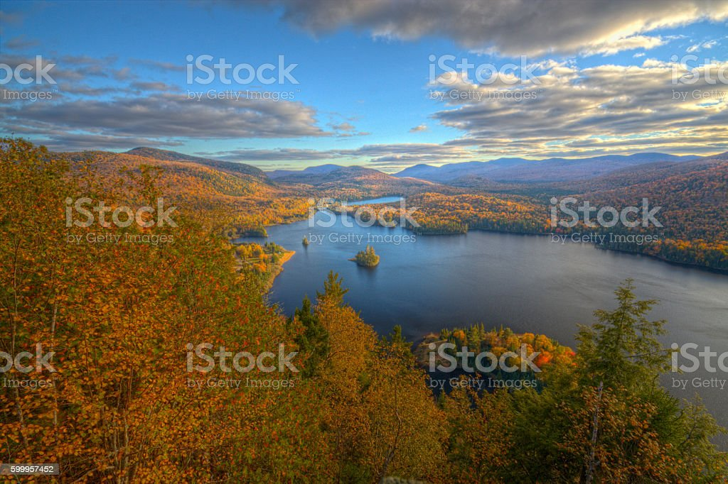 Canadian Autumn stock photo