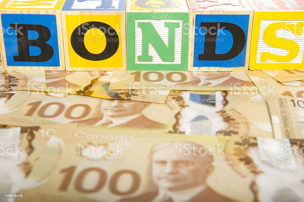 Canadian Bonds stock photo