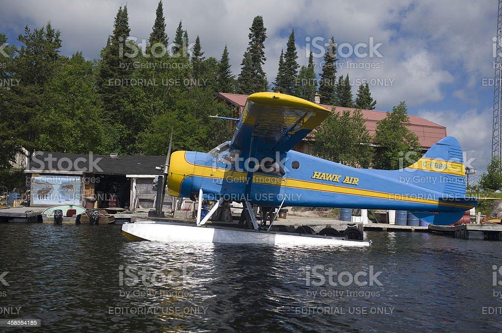 Canadian Bush Plane stock photo