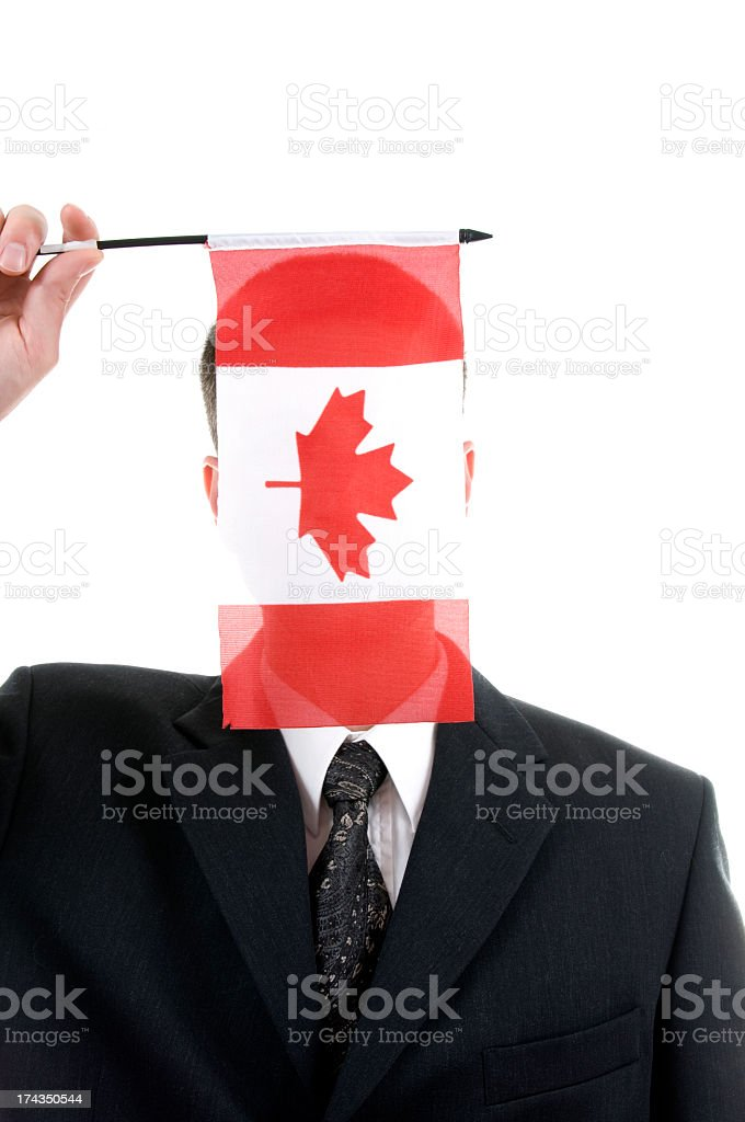Canadian Business royalty-free stock photo